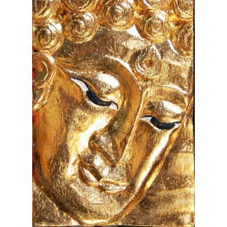 Golden Face of Buddha