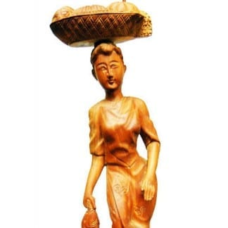 Hand Carved Wood Statues