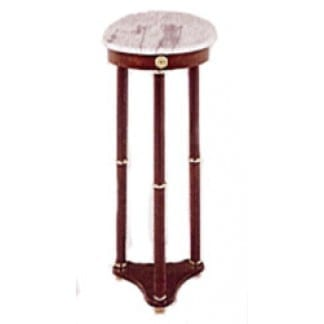 Plant Stand Round Marble Top