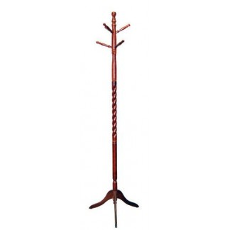 Coat Rack Cherry Finish