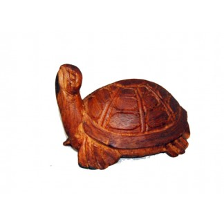 Carved Turtle with Head up