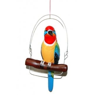 Ceramic Hanging-Colorful-Bird