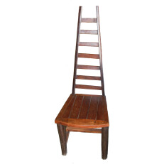 Ladder Back Chair No Arms