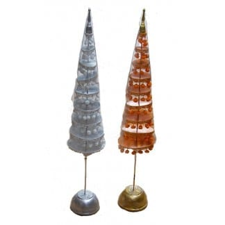 Gold or Silver Buddha Tree-48