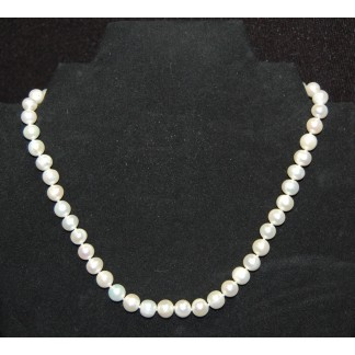 Freshwater Pearl Necklace W