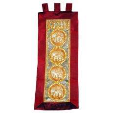 Kalaga Tapestry-Elephant-Orange