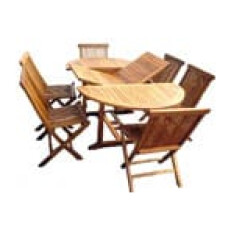 EXT TABLE OVAL 4X4-6