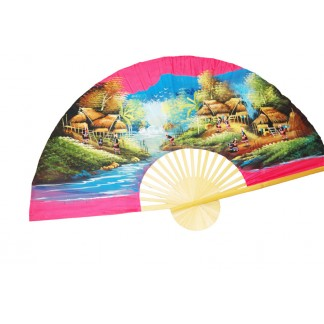 Hand Painted Fan J-F-21.