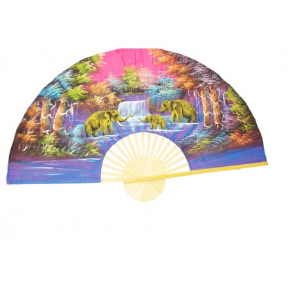Hand Painted Fan J-F-26,