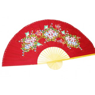 Hand Painted Fan J-F-35-43