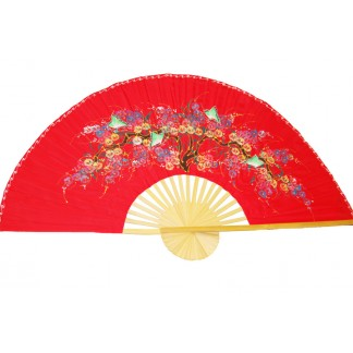 Hand Painted Fan J-F-35-45