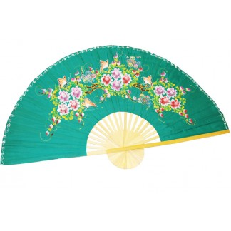 Hand Painted Fan J-F-35-46