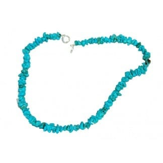 Turquoise Necklace 19 in