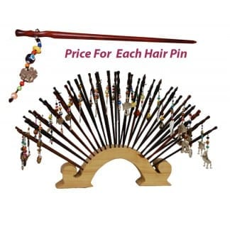 Wood Hair Pin - Chopstick