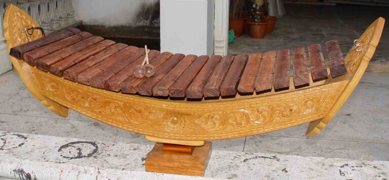 Traditional Thai and Laos Musical Instruments
