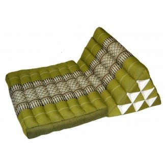 Triangle Pillow Mat Lime Green