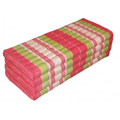 Mattress Four Fold Red PeaGreen