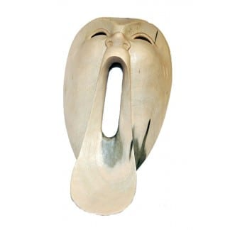 Mask Long Open Mouth