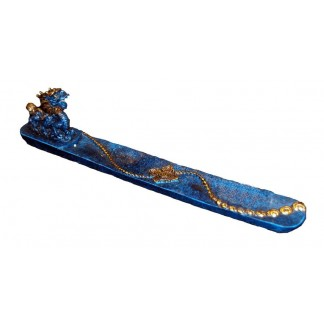 Blue Dragon Incense Holder