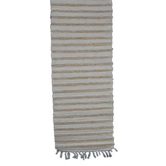 Cream Cotton Table Cloth Runner