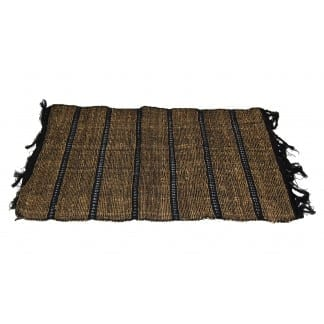 Black-Brown Cotton Placemat