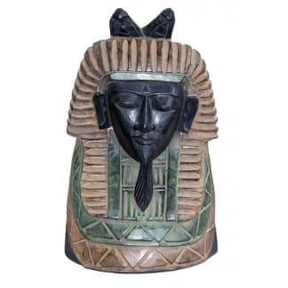 Statue of an Egyptian Pharaoh