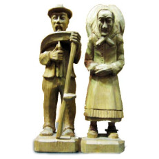 Carving of Old Farmers