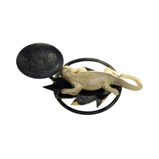 Lizard Candle Holder