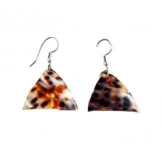 Triangle Sea Shell Earring