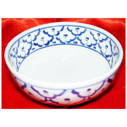 Blue and White Bowl 5 in