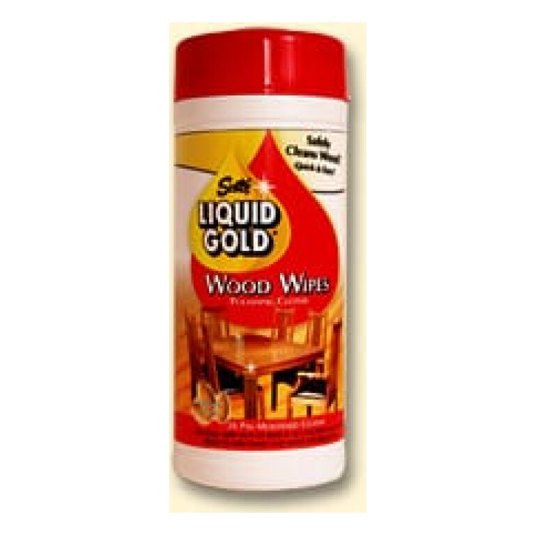 Liquid Gold Wood Wipes