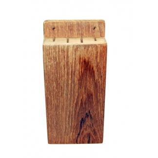 Teak wood Knife Holder