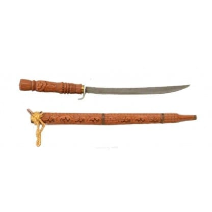 Sword and Carved Wooden Case