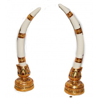 Resin Elephant tusks