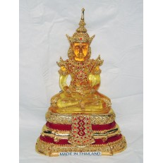 Yellow Resin Buddha